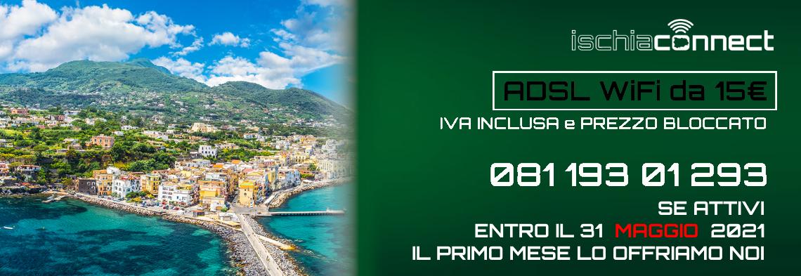 Offerta Adsl Wifi Primo Mese Gratis Ischia Connect Wifi